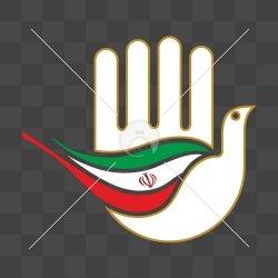 دست علم و پرچم ایران