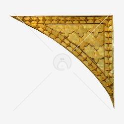 حاشیه طلایی حرم