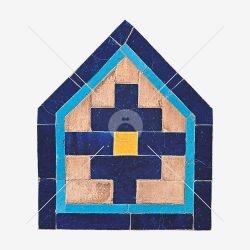 موتیف کاشی ۵ ضلعی