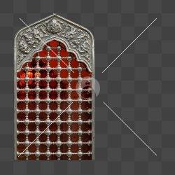 پنجره ی ضریح حضرت عباس (ع)