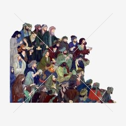 نقاشی مینیاتور مردم