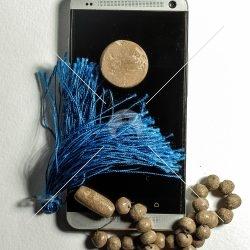 مهر و تسبح و گوشی تلفن همراه