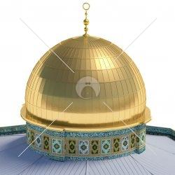 ۵۱ تصویر لایهباز متوالی ۳۶۰ درجه – قدس (مسجد قبه الصخره)