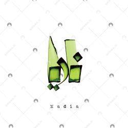 اسم دستنویس نادیا