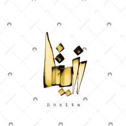 اسم دستنویس روزیتا سبک ایراندخت