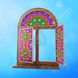 پنجره مشبک سنتی ارسی