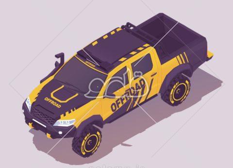 خودرو آفرود ایزومتریک